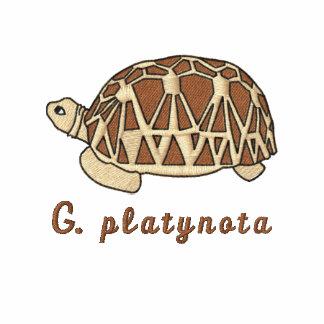 Birmanisches Stern-Schildkröten-Shirt (Stickerei)