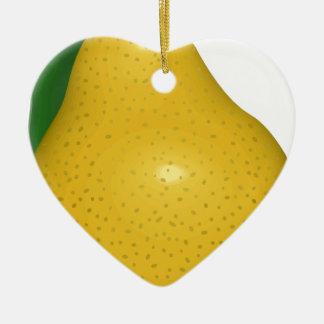 Birne Keramik Ornament