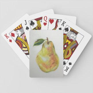 Birnen-Spielkarten Spielkarten