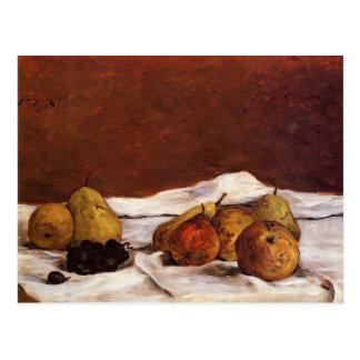 Birnen und Trauben Pauls Gauguin- Postkarte
