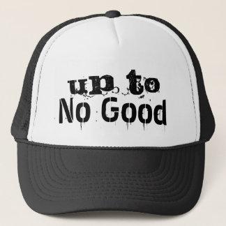Bis zur Hut-dem Schwarzen keines guten Truckerkappe