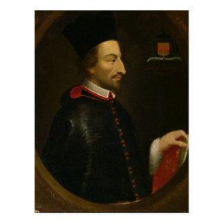 Bischof Cornelius Jansen von Ypres Postkarte