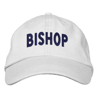 Bischof - Kappe Bestickte Baseballcaps