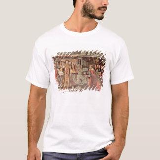 Bischof Robert Sherburne mit Henry VIII T-Shirt