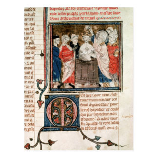Bischof St. Remigius von Reims Postkarte