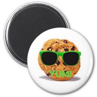 Biscuit frais magnet rond 8 cm