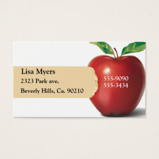 Biss von Apple Visitenkarte
