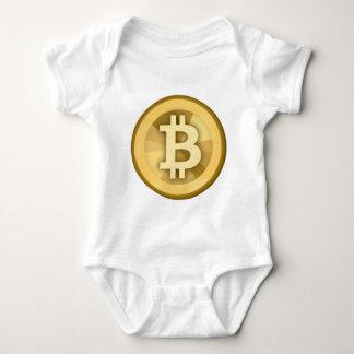 BITCOIN anonyme GELD-DIGITAL-Währung BTC Baby Strampler