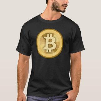 BITCOIN anonyme GELD-DIGITAL-Währung BTC T-Shirt