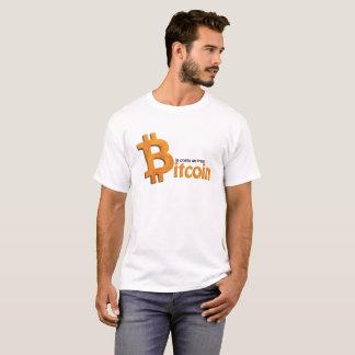 Bitcoin crypto nerd shirt - in crypto we trust