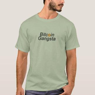 Bitcoin Gangsta Grafik mit dem BTC Logo T-Shirt