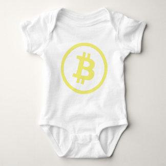 Bitcoin Logo Baby Strampler