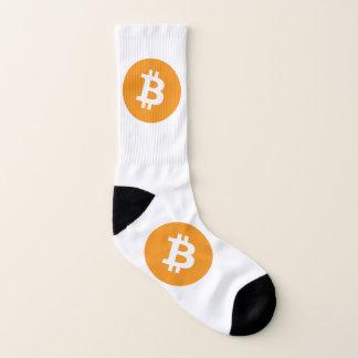 Bitcoin Logo Socken