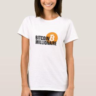 Bitcoin Millionär T-Shirt