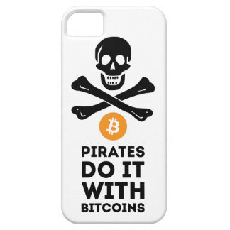 Bitcoin Piratenfall Barely There iPhone 5 Hülle