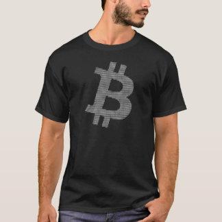 Bitcoin Stärken-zahlreich weiße Matrix T-Shirt