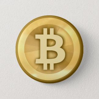 Bitcoin Stift Runder Button 5,7 Cm
