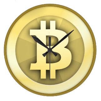 Bitcoin Uhr Große Wanduhr
