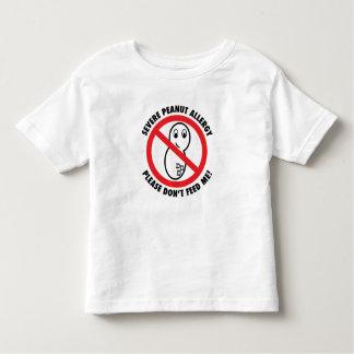Bitte füttern Sie nicht Mir-Erdnuss Kleinkind T-shirt