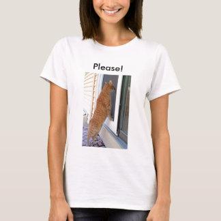 Bitte!  Spay oder neutralisieren Sie! T-Shirt