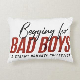 Bitten um Jungen-Kissen Dekokissen