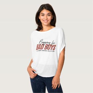 Bitten um schlechte Jungen-Slouchy T - Shirt