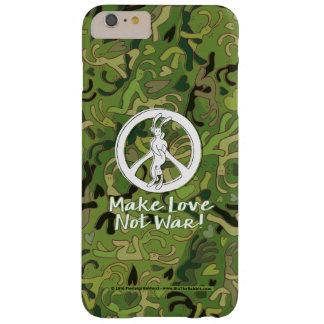 Bix Abdeckung… machen Liebe keinen Krieg… durch Barely There iPhone 6 Plus Hülle