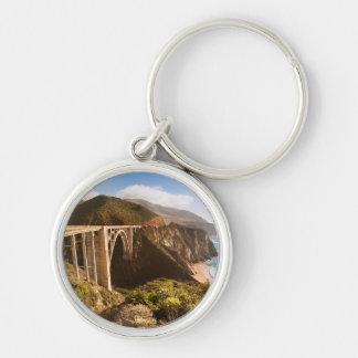 Bixby Brücke, großes Sur, Kalifornien, USA Schlüsselanhänger