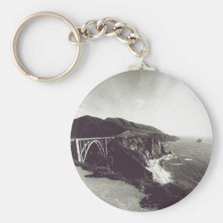 Bixby Brücke, großes Sur, Kalifornien USA Schlüsselanhänger