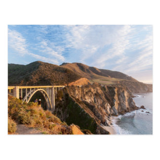 Bixby Brücke in Kalifornien Postkarte