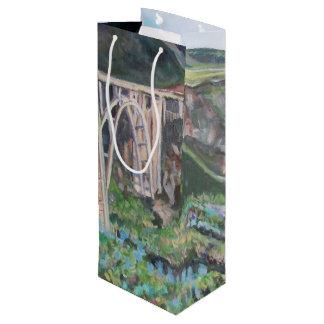 Bixby Brücke - kundenspezifische Geschenk-Tasche - Geschenktüte Für Weinflaschen