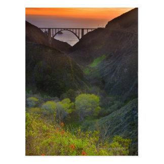 Bixby Brücke Postkarte