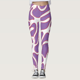 BixTheRabbit Gamaschen… lila! Leggings