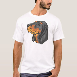 Black_and_Tan_Coonhound_ T-Shirt