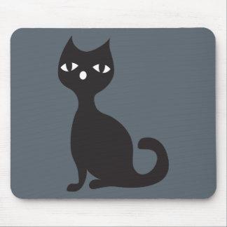 black-cat mauspad