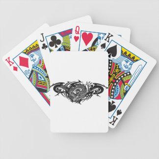 Black Dragon 2.gif Bicycle Spielkarten