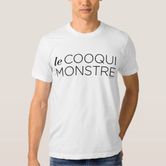 Black le Cooqui Monstre Tee-shirts