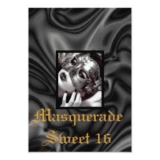 black-satiny-silk-design.jpg, noir-mascarade… carton d'invitation  12,7 cm x 17,78 cm