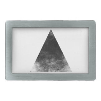 Black Triangle Rechteckige Gürtelschnallen