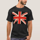 Black Union Jack T-Shirt