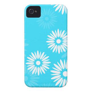 BlackBerry-mutiger Kasten Blumen der Sommerzeit iPhone 4 Hülle