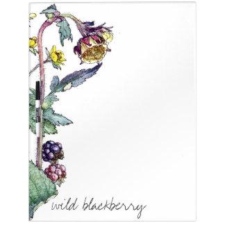 BlackBerry-Rebe-Beeren-Blumen trocknen Trockenlöschtafel