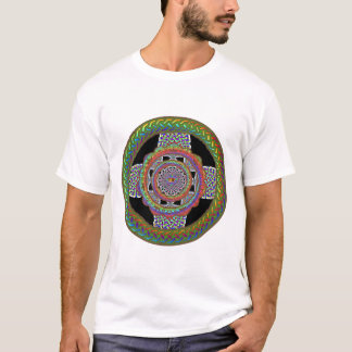 blackcirclecelticrainbowcross T-Shirt