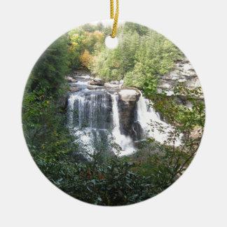 Blackwater-Fälle, West Virginia Keramik Ornament