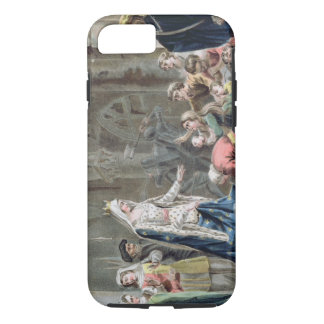Blanche de Castille (1185-1252) bricht oben das iPhone 8/7 Hülle