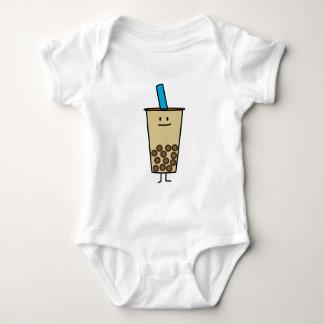 Blase Boba Perlen-Milch-Tee-Tapiokabälle Baby Strampler