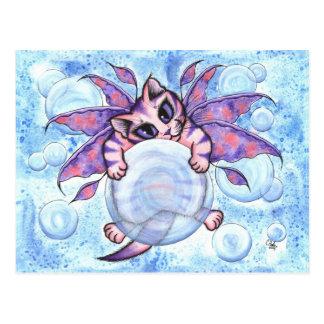 Blasen-feenhafte Postkarte