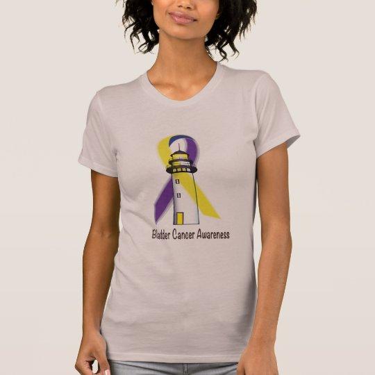 Blasen-Krebs-Leuchtturm der Hoffnung T-Shirt