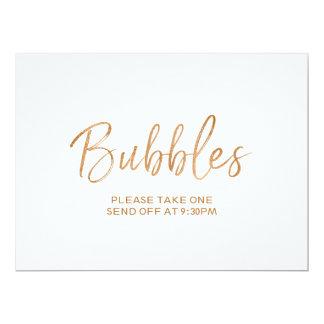 """""""Blasen"""" senden weg von der stilvollen GoldRose Karte"""