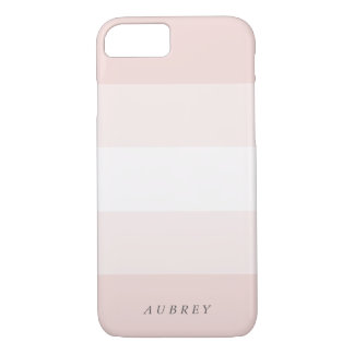 Blaß erröten rosa Steigung Colorblock iPhone 7 Hülle